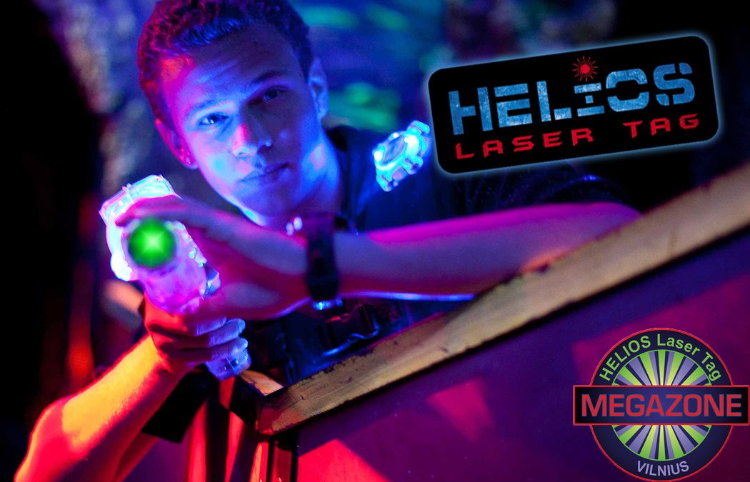 MEGAZONE laser tag team building activities vilnius